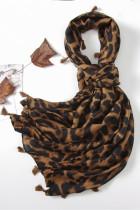 Leopard dusk skjerf