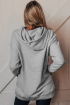 Gray Feelin' Good Oversized Hoodie