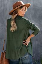 Zelená bunda Diablo s kapesní plátěnou směsí