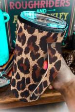 Крышка чашки с леопардовым принтом