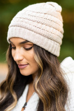 Mountainide Adventures Apricot Knit Beanie