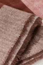 Plaid Knit Blanket skjerf