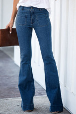 Blue Bell Bottom Denim Pants