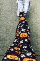Поножи Boo с привидением в виде тыквы на Хэллоуин