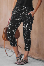 Splatter Cotton joggebukser