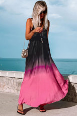 Cà vạt nhuộm Gradient Holiday Maxi Dress