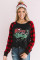 Merry Christmas Siyah Sweatshirt