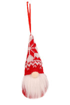 Ornamen Gantung Pohon Natal Klasik Faceless Gnome Santa Xmas