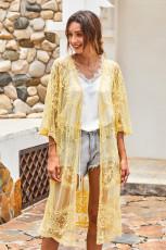 Lace Kimono ya Kulîlka Zer