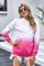 Μακρυμάνικο φούτερ με κουκούλα Rose Gradient