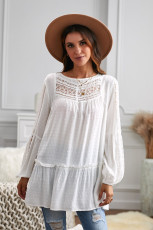 French Fling Lace Tunika Top