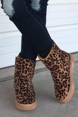 Leopardí sněhové boty