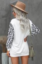 Turtleneck Leopard Print minimekko