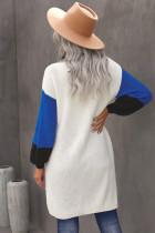 Kapesní svetr s barevným potahem z bavlny