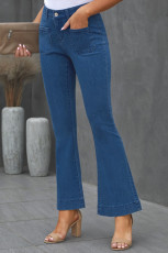 Celana Denim Blue Bell Bottom