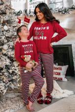 Комплект домашней одежды для дома для отпуска SANTA'S big HELPER Print Mama's Holiday Home