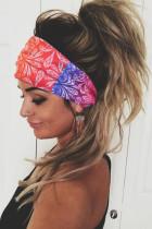 Эластичная широкая повязка на голову с разноцветным принтом пейсли