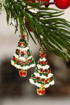 Juletre krok øreringer