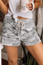 Grå camouflage snor Casual shorts