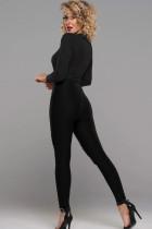 Risk It Bodysuit Black Studded