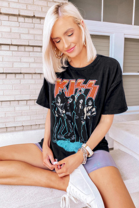 KISS END OF THE ROAD Tee