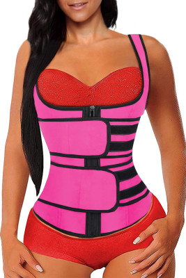 Rose Latex Underbust Sport Girdle Waist Trainer