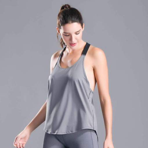 Sexy Loose Quick Dry Sports Yoga Vest