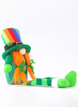 St. Patrick's Irish Day Shamrock Long-legged Doll