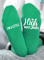 Women's Socks Letter Solid Cotton Socks