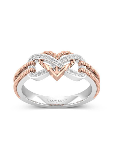 Women's Rings Heart-shaped Anchor Ring
