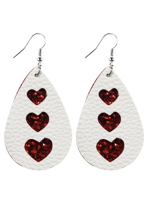 Women's Earrings Sweetheart Solid Earrings