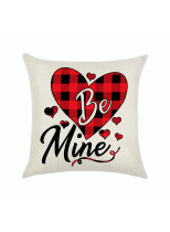 Heart-shaped Valentine's Day Pillowcase