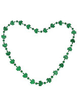 St. Patrick's Day Multicolor Clover Bead Chain