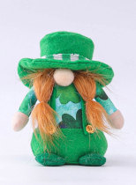 St. Patrick's Day Green Hat Doll