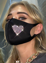 Adult's Masks Sequin Solid Cotton Mask