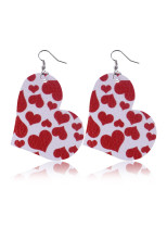 Women's Earrings Heart-shaped Holiday Metal Earrings