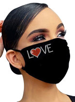 Adults' Mask Cotton Sweatheart Love Mask