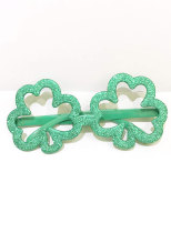 St. Patrick's Day Party Shamrock Glasses