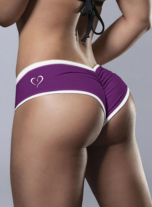 Women's Panties Letter Color-block Low Rise Daily Date Sexy Basic Panties