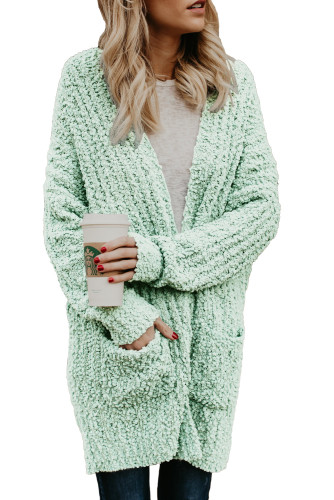 Mint Pebble Beach Textured Cardigan