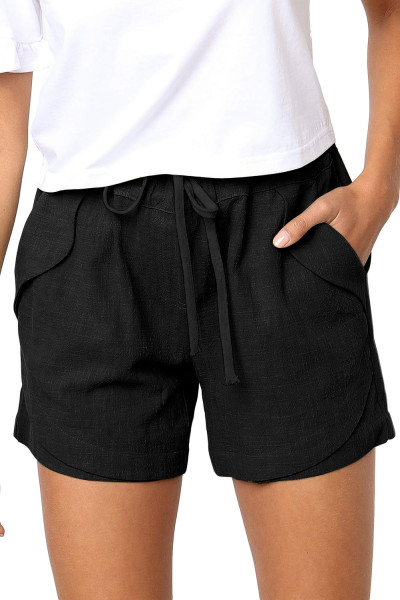 Black Faylin Shorts