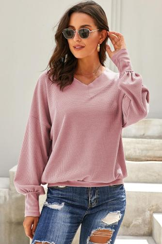 Pink Our Country Roads Thermal Top